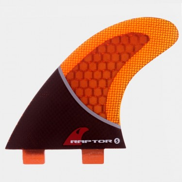 R5 Carbon Fin Set - Orange